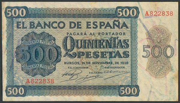 78 - Billetes Españoles