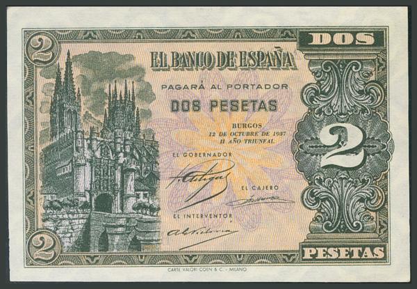 87 - Billetes Españoles