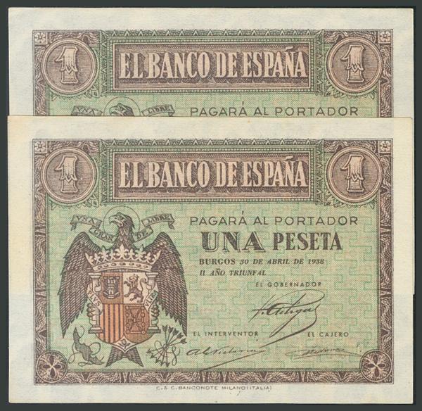 92 - Billetes Españoles