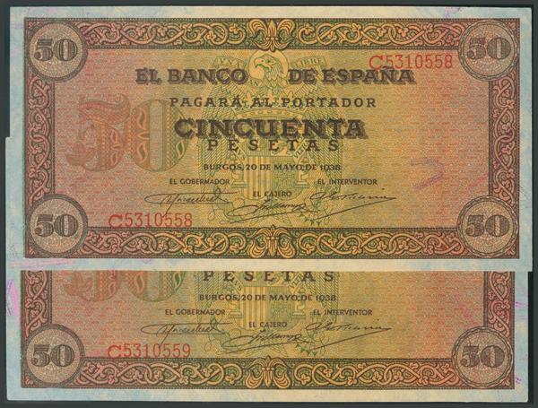 96 - Billetes Españoles