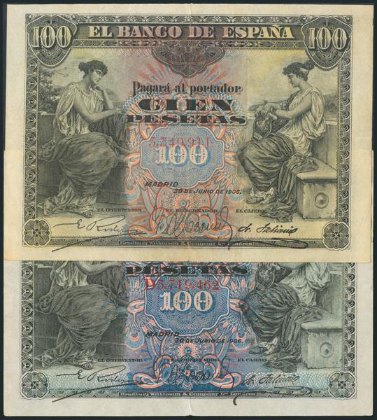 1042 - Billetes Españoles