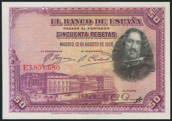 1049 - Billetes Españoles