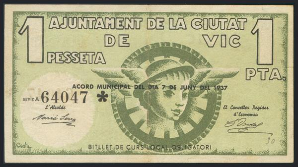 1202 - Billetes Guerra Civil