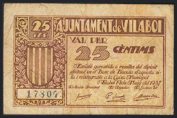 1203 - Billetes Guerra Civil