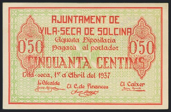 1204 - Billetes Guerra Civil
