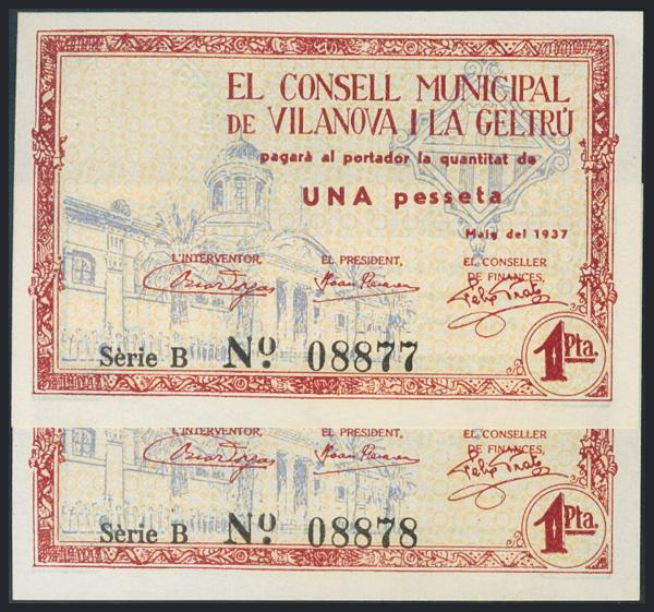 1206 - Billetes Guerra Civil