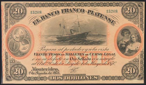 1269 - Billetes Extranjeros