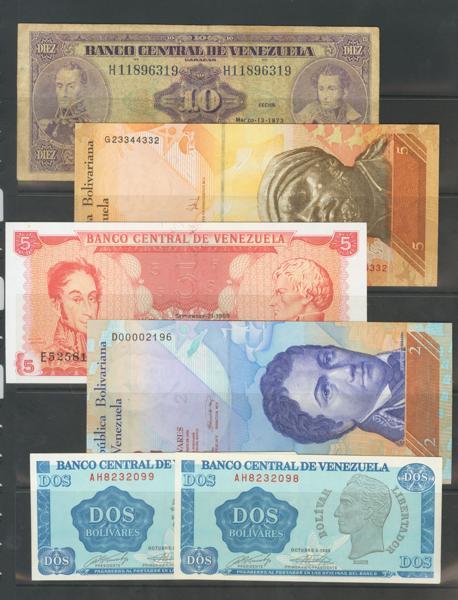 1274 - Billetes Extranjeros