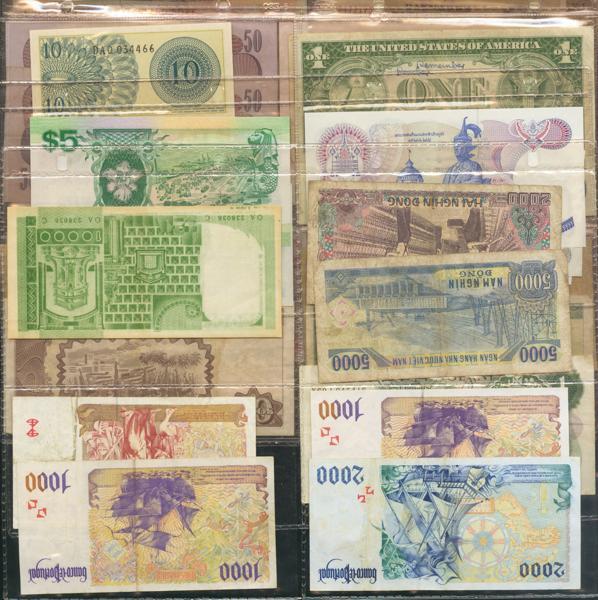1276 - Billetes Extranjeros
