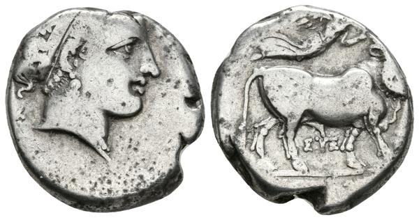 5 - Ancient Greek coins