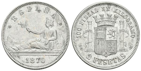636 - Centenary of the Peseta