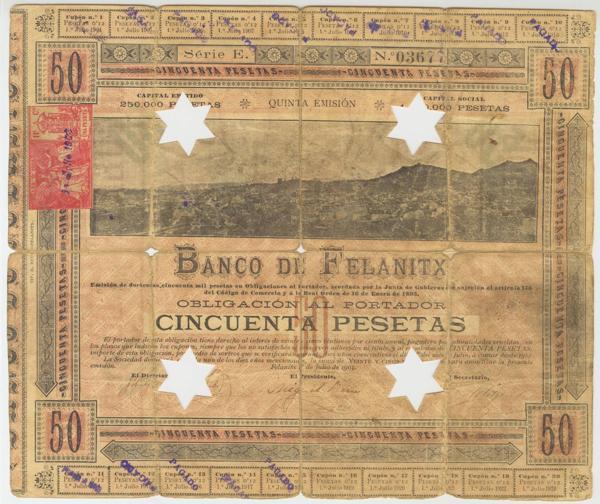951 - Billetes Españoles