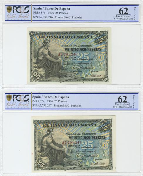 955 - Billetes Españoles