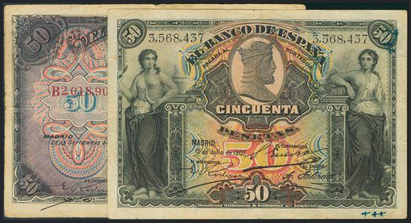 956 - Billetes Españoles