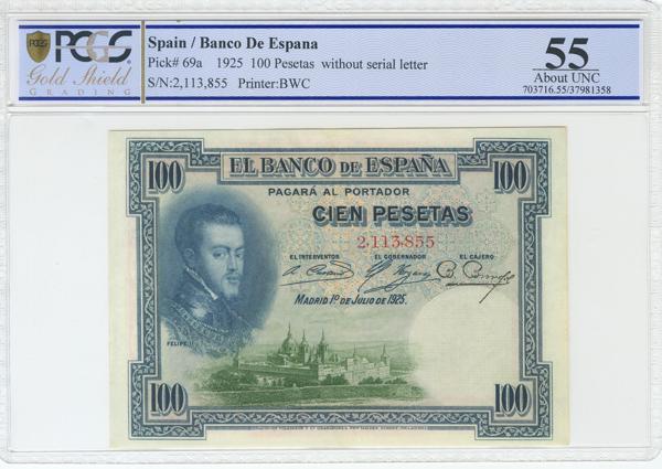958 - Billetes Españoles