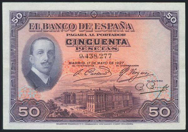 959 - Billetes Españoles