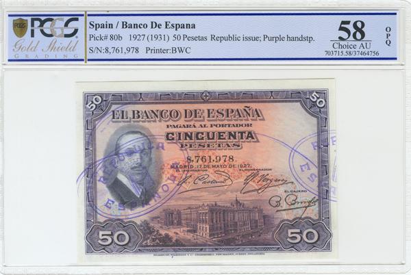 960 - Billetes Españoles
