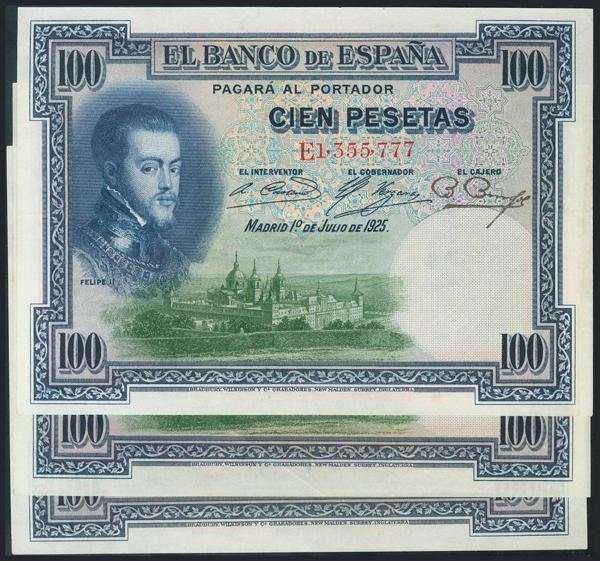 961 - Billetes Españoles