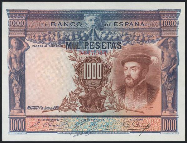 962 - Billetes Españoles
