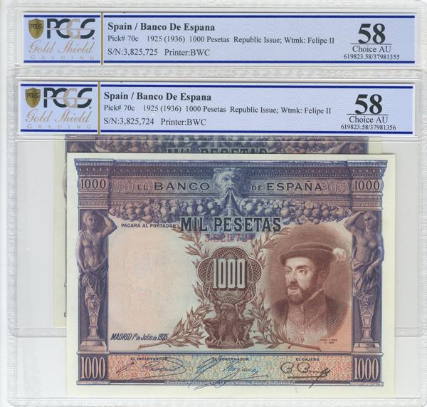 963 - Billetes Españoles
