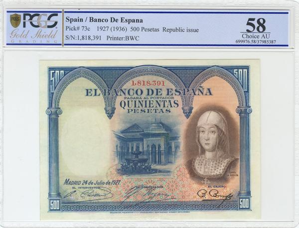 964 - Billetes Españoles