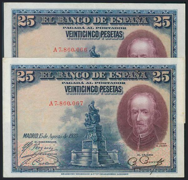 965 - Billetes Españoles