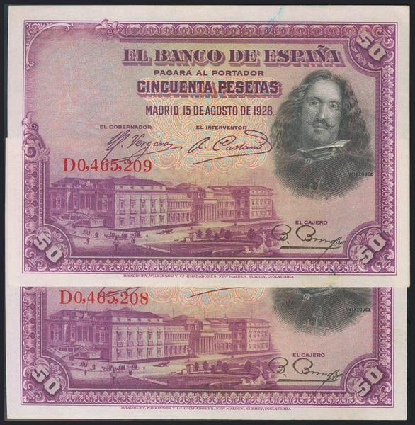 966 - Billetes Españoles