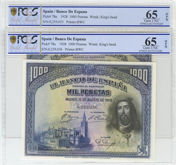 968 - Billetes Españoles