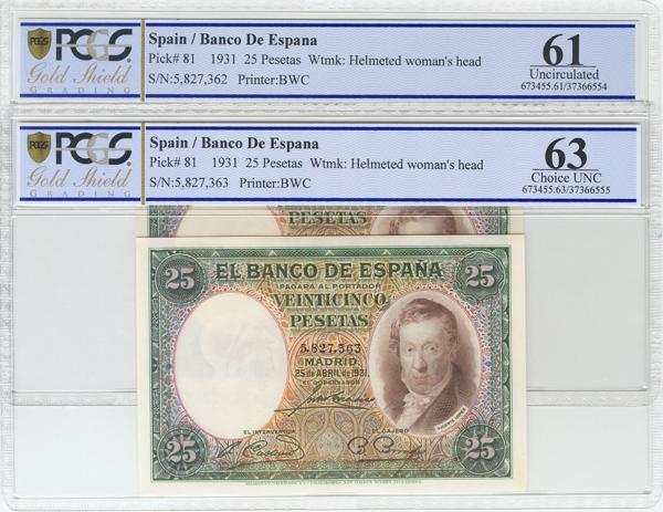 969 - Billetes Españoles