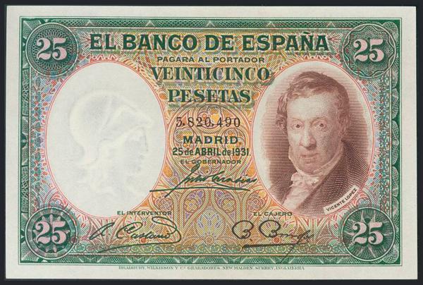 970 - Billetes Españoles