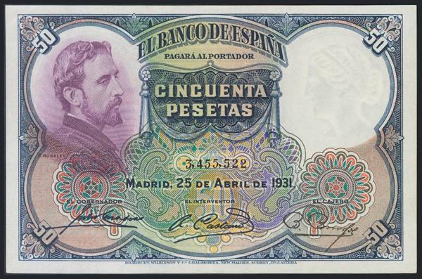 971 - Billetes Españoles