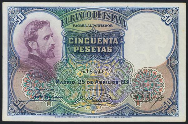 972 - Billetes Españoles