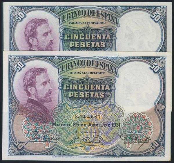 973 - Billetes Españoles