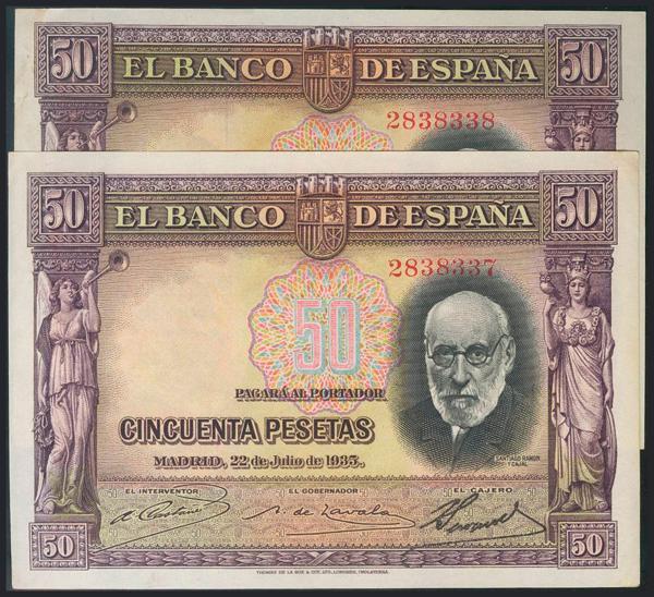 975 - Billetes Españoles