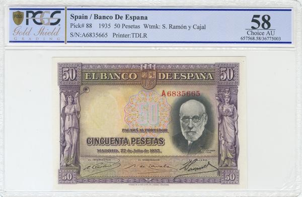 977 - Billetes Españoles