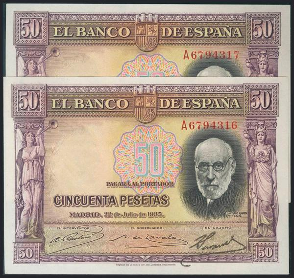 978 - Billetes Españoles
