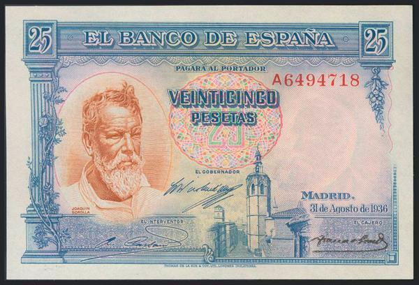979 - Billetes Españoles