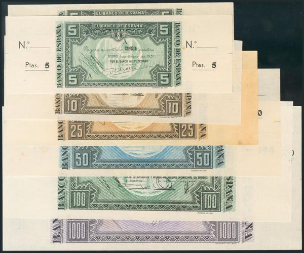 981 - Billetes Españoles