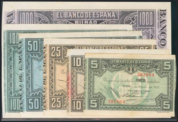 982 - Billetes Españoles