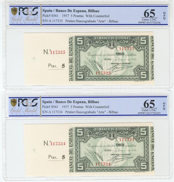 983 - Billetes Españoles