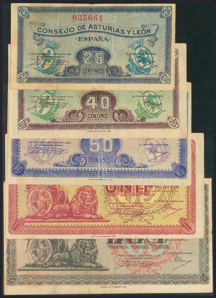 985 - Billetes Españoles