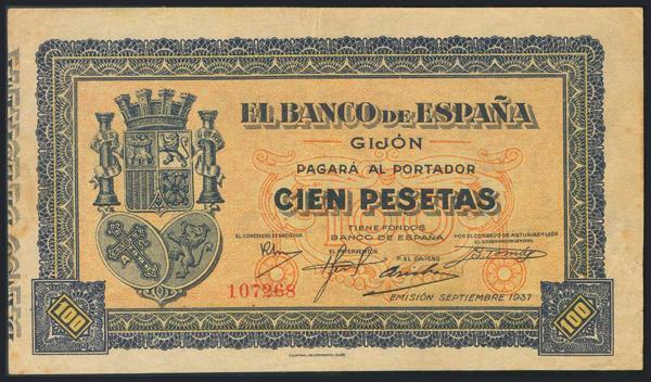 986 - Billetes Españoles