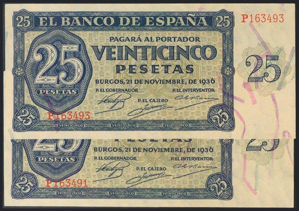987 - Billetes Españoles