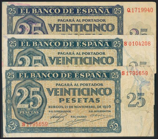 988 - Billetes Españoles
