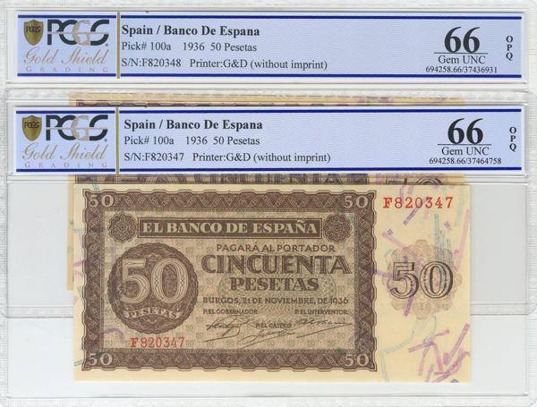 989 - Billetes Españoles