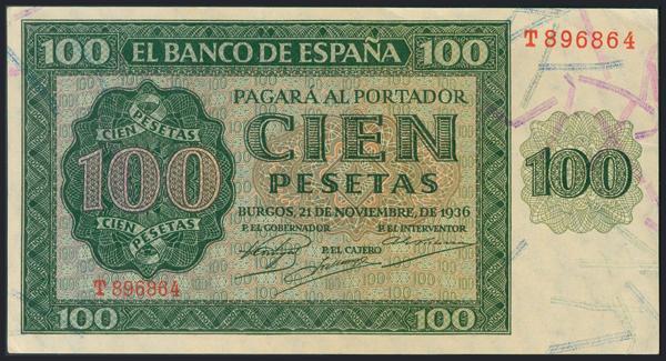 990 - Billetes Españoles