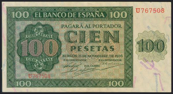 991 - Billetes Españoles