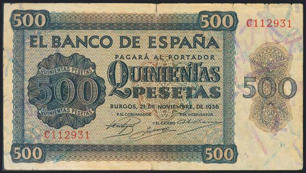 992 - Billetes Españoles