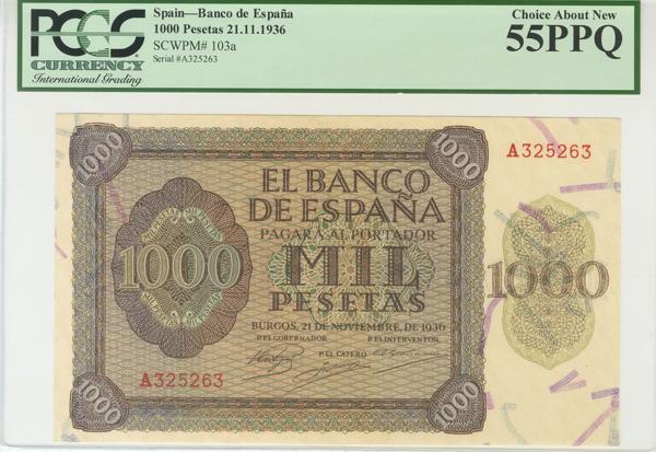 993 - Billetes Españoles