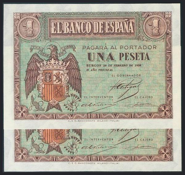 998 - Billetes Españoles